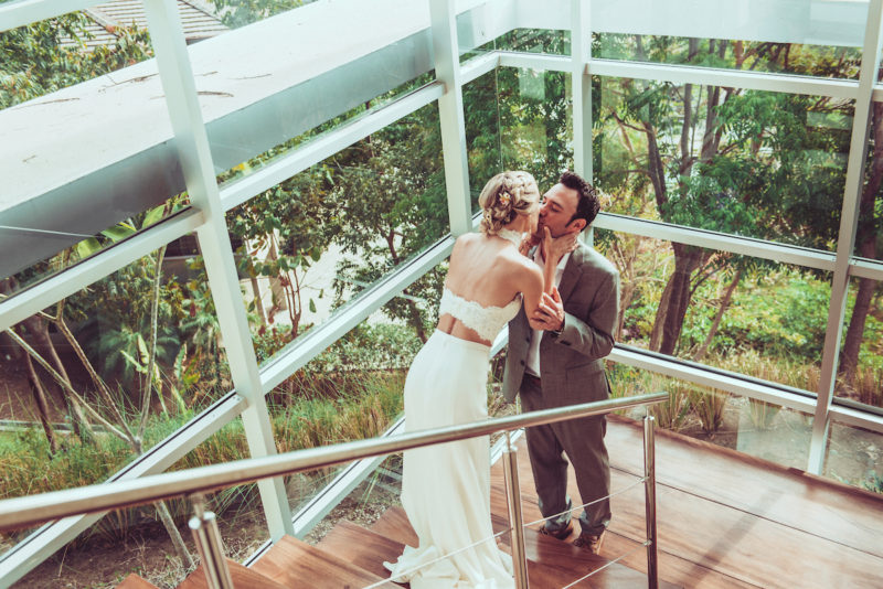 Wedding Day Kiss - Chic Wedding