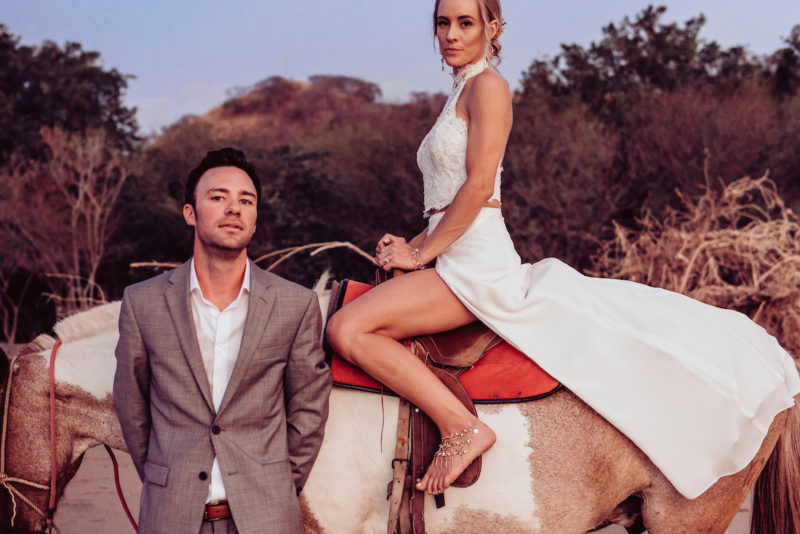 Wedding Day Horse Ride